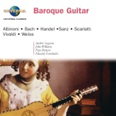Göran Söllscher - Suite for Cello Solo No.2 in D minor, BWV 1008 - Transcribed for Solo Guitar by Göran Söllscher Transcribed for Solo Guitar by Gör : 3. Courante