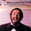 Pavarotti at Carnegie Hall, John Wustman & Luciano Pavarotti