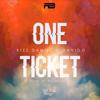 Kizz Daniel & Davido - One Ticket artwork