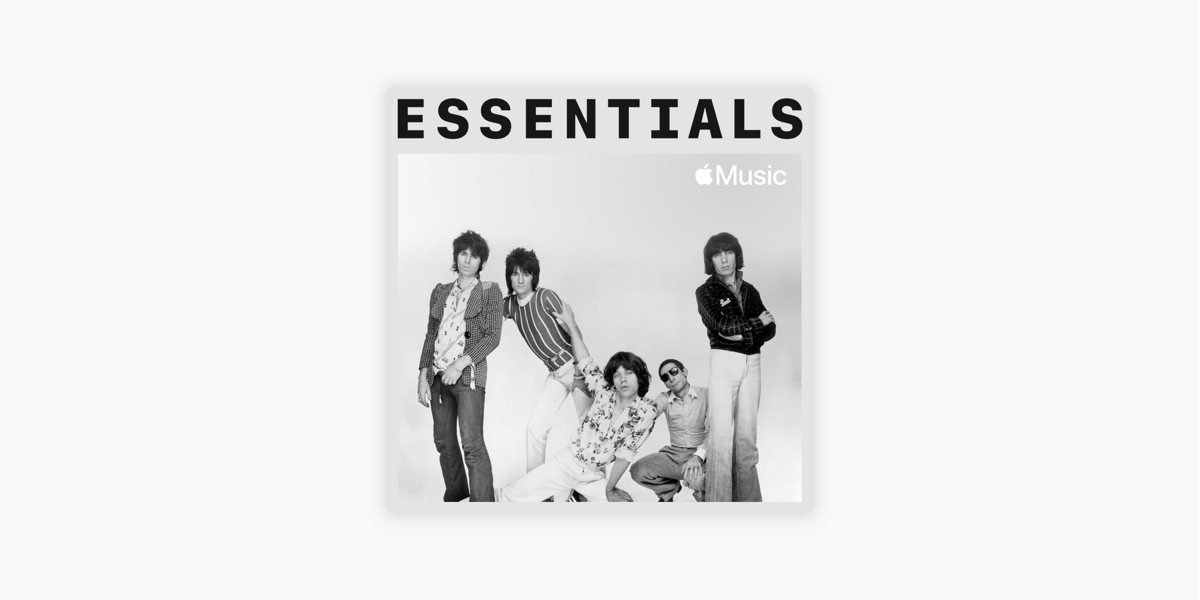 The Rolling Stones Essentials On Apple Music