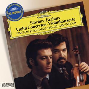 Pinchas Zukerman & Daniel Barenboim - Sibelius: Violin Concerto in D Minor, Op. 47 / Beethoven: Violin Romance No. 1 in G Major / Brahms: Violin Concerto in D, Op. 77 (The Originals)