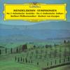 Herbert von Karajan & Berlin Philharmonic - Mendelssohn: Symphonies Nos. 3 & 4  artwork