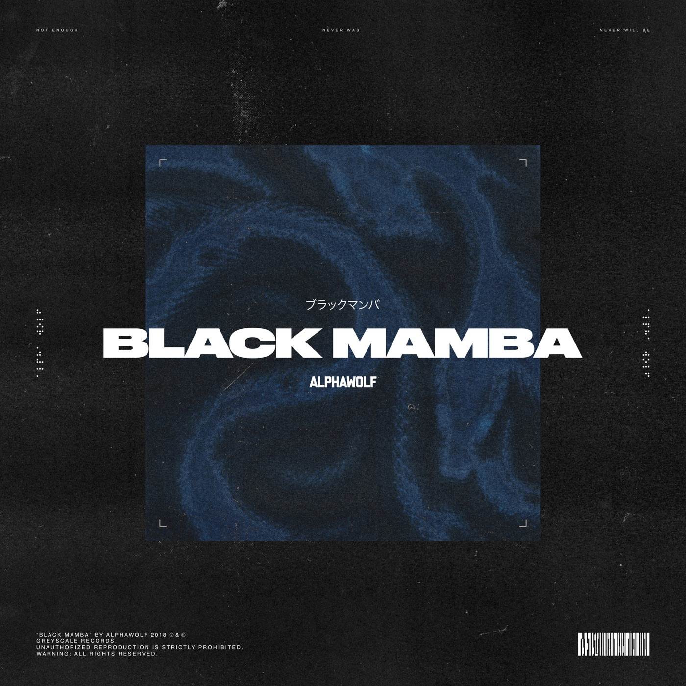 Alpha Wolf - Black Mamba [single] (2018)