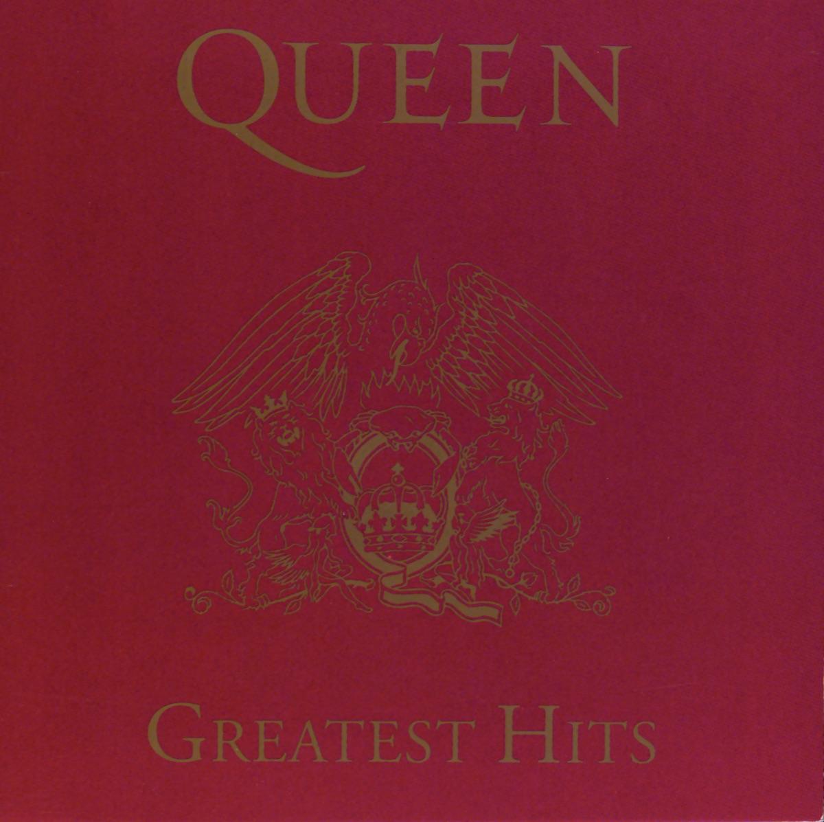 Queen Greatest Hits Queen CD cover
