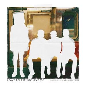 Marshmello & Jonas Brothers - Leave Before You Love Me - Line Dance Music