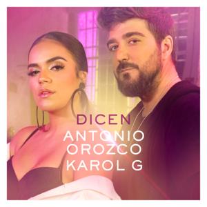 descargar bajar mp3 Dicen Antonio Orozco & Karol G