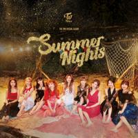 TWICE - Summer Nights artwork