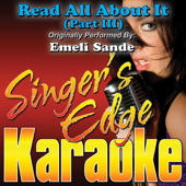 Read All About It (Part III) [Originally Performed By Emeli Sande] [Instrumental]