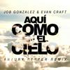Job González, Evan Craft & Artury Pepper - Aquí Como en el Cielo (Artury Pepper Remix) ilustración