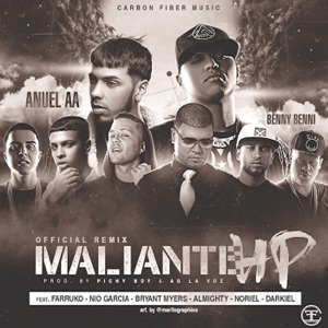 Maliante HP (feat. Benny Benni, Noriel, Farruko, Bryant Myers, Nio Garcia, Almighty & Darkiel) - Single Mp3 Download