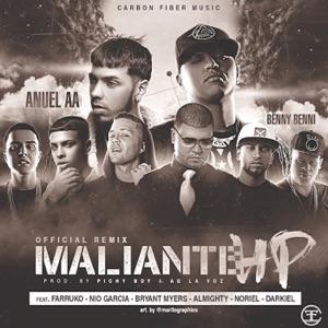 Anuel AA - Maliante HP feat. Benny Benni, Noriel, Farruko, Bryant Myers, Nio Garcia, Almighty & Darkiel