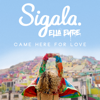 Sigala & Ella Eyre - Came Here For Love artwork