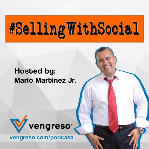 Cover image of Selling With Social Sales Podcast