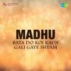 Bata Do Koi Kaun Gali Gaye Shyam From Madhu Single