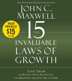 The 15 Invaluable Laws of Growth audiobook
