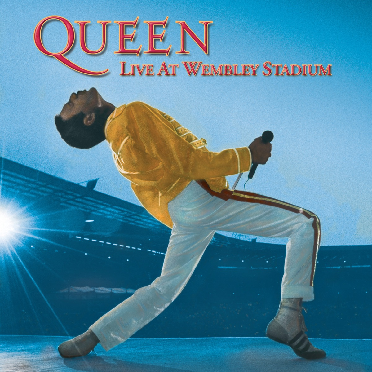 Live At Wembley Stadium Queen CD cover