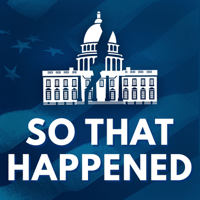 Podcast cover art for So That Happened