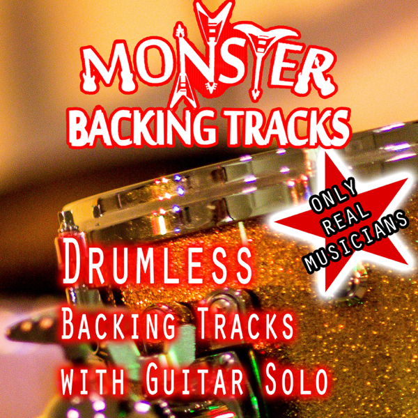 ‎Drumless Backing Tracks with Guitar Solo by Monster Backing Tracks