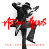 Anthony Gomes - Peace, Love & Loud Guitars  artwork