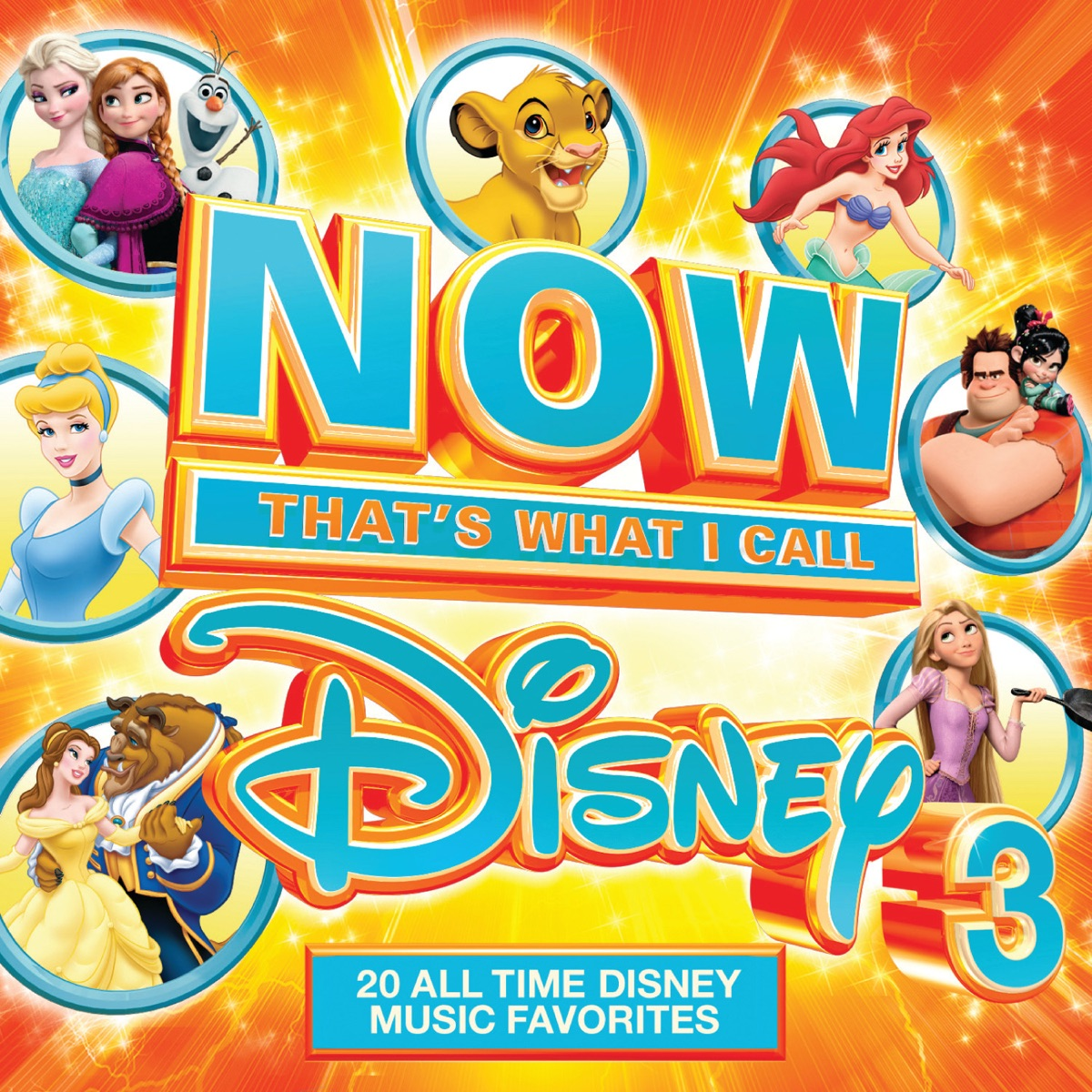 NOW Thats What I Call Disney 3 Various Artists CD cover