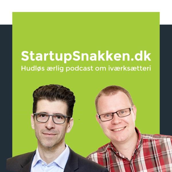 StartupSnakken.dk med Martin Bengaard og Anders Thue Pedersen