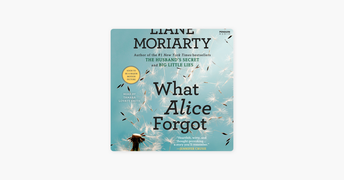 What Alice Forgot (Unabridged) - Liane Moriarty