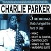 Savoy Jazz Super EP Charlie Parker Vol 1 EP