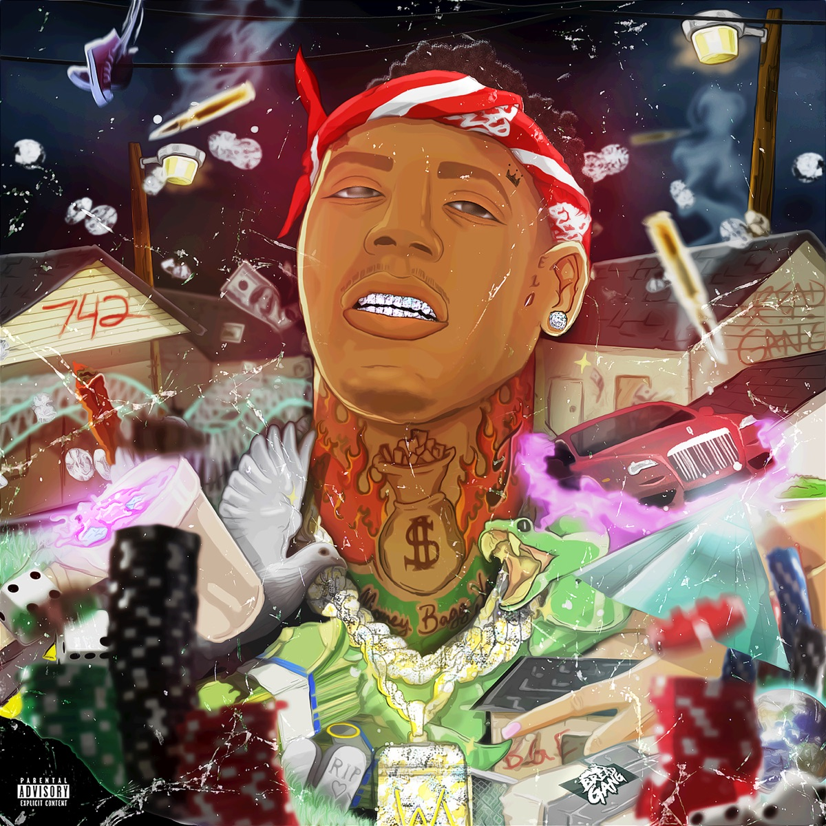 Bet On Me Album Cover By Moneybagg Yo