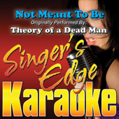 Not Meant To Be (Originally Performed By Theory of a Dead Man) [Instrumental]