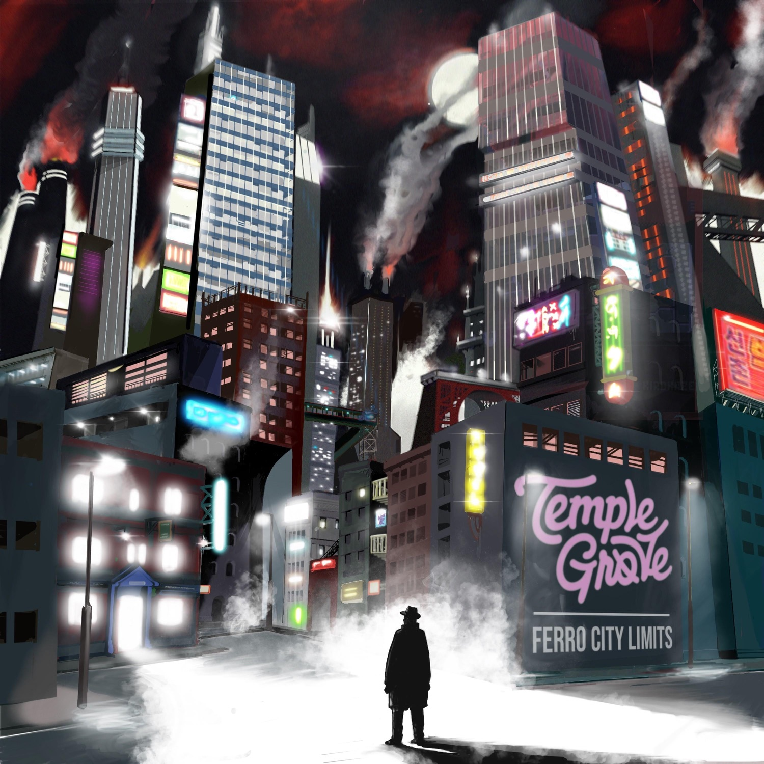 Temple Grove - Ferro City Limits [EP] (2018)