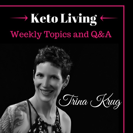 Cover image of Keto Living Podcast with Trina Krug
