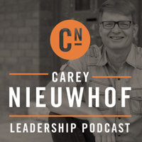 Podcast cover art for The Carey Nieuwhof Leadership Podcast: Lead Like Never Before