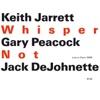 Whisper Not (Live in Paris 1999) ジャケット写真