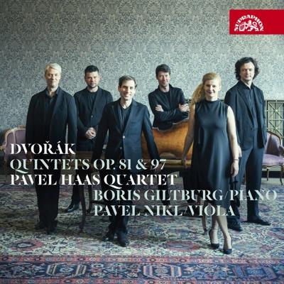 Dvořák: Quintets, Op. 81 & 97 - Pavel Haas Quartet, Boris Giltburg & Pavel Nikl album