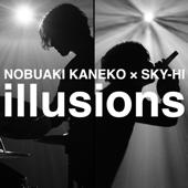 illusions (feat. SKY-HI)/金子ノブアキジャケット画像