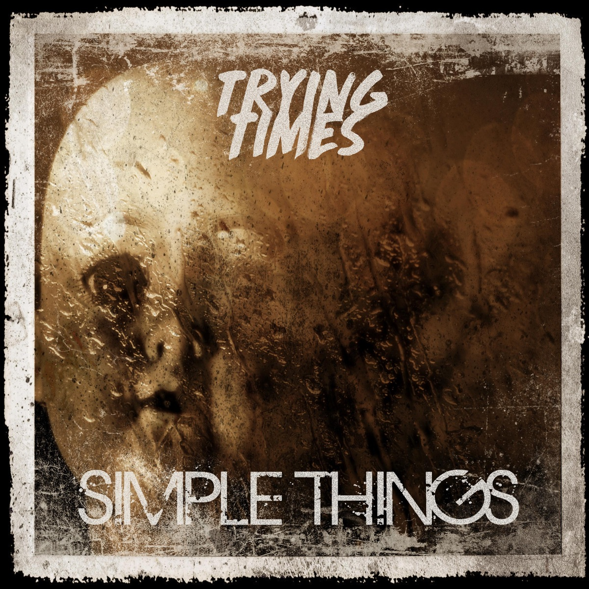 Simple Things - Single Trying Times CD cover