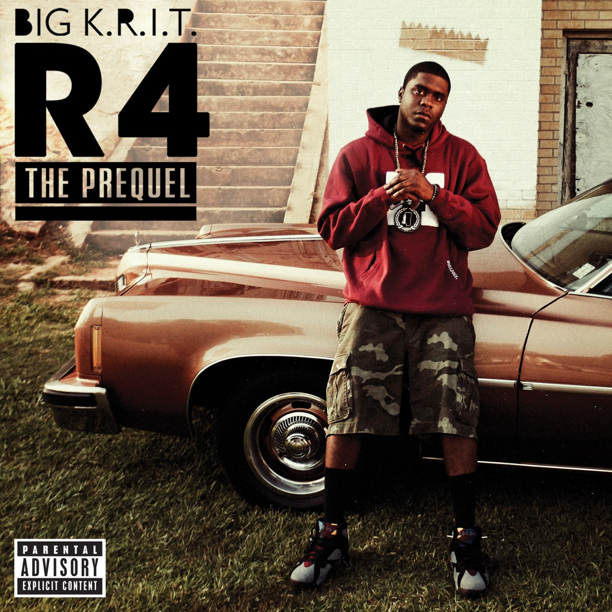 R4 the Prequel - EP Big KRIT CD cover