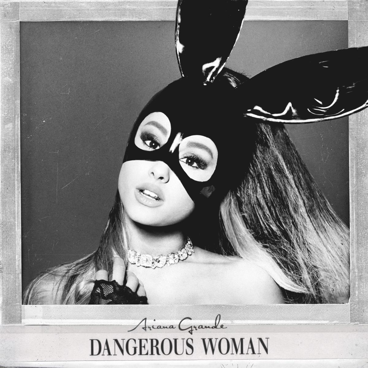 Dangerous Woman Ariana Grande CD cover