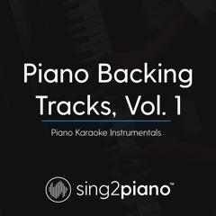 Piano Backing Tracks, Vol. 1 (Piano Karaoke Instrumentals)