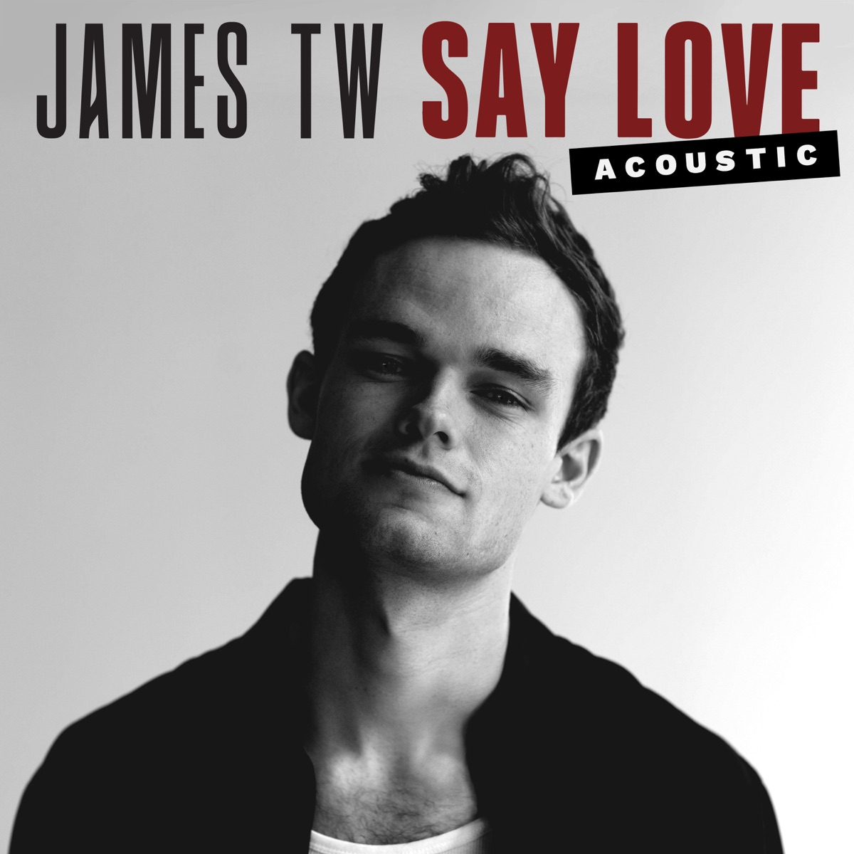 Say Love Album Cover by James TW