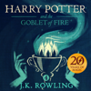 J.K. Rowling - Harry Potter and the Goblet of Fire, Book 4 (Unabridged)  artwork