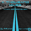DJ Frank - A Thousand Miles (feat. Nynde) [Natural Born Grooves Remix] artwork