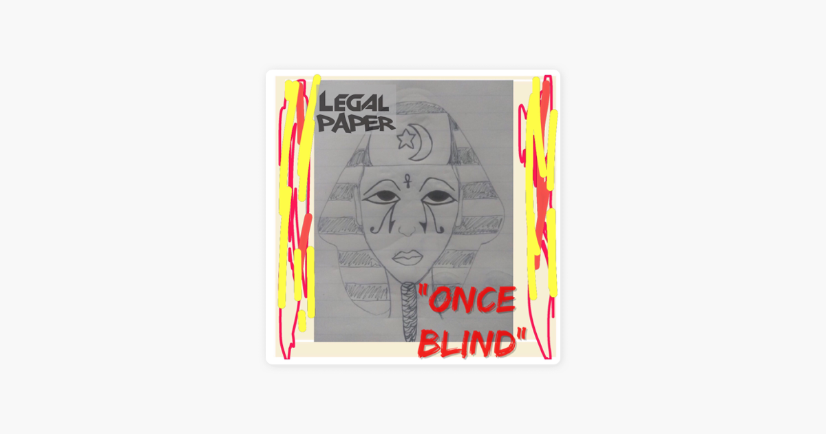 legal paperの once blind single をapple musicで