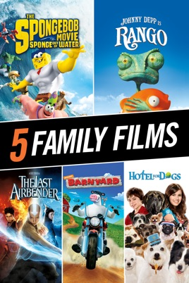 Nickelodeon 5 Film Collection On Itunes