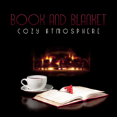 Book and Blanket: Cozy Atmosphere