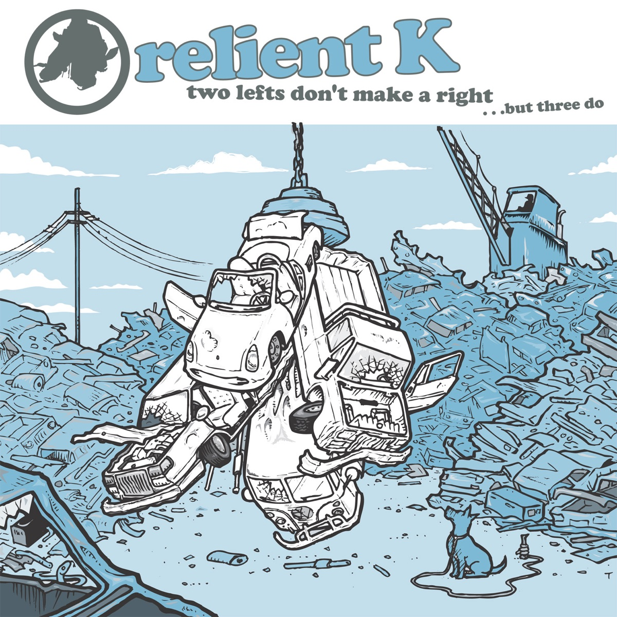 Two Lefts Don\'t Make a Right...But Three Do Album Cover by Relient K