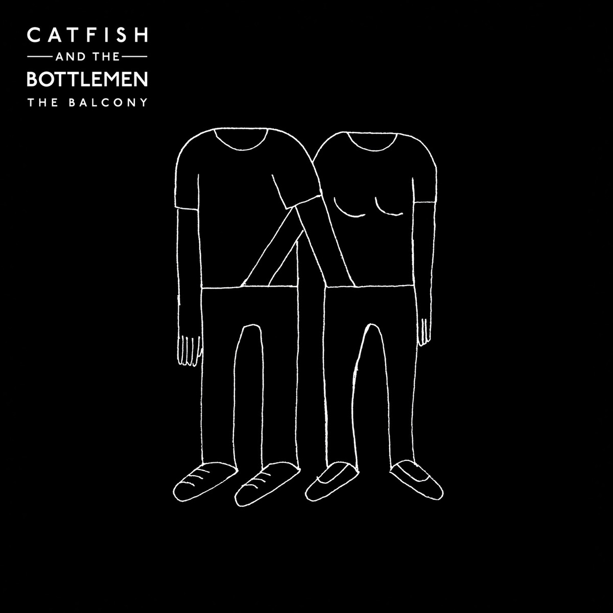 The Balcony Catfish and the Bottlemen CD cover