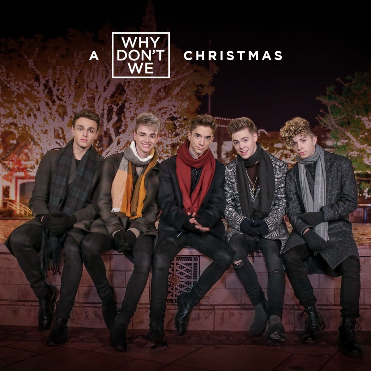 A Why Dont We Christmas - EP Why Dont We CD cover