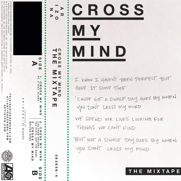 Cross My Mind: The Mixtape - Single