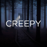 Podcast cover art for Creepy